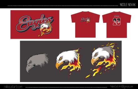 Eagle Mascot/Logo