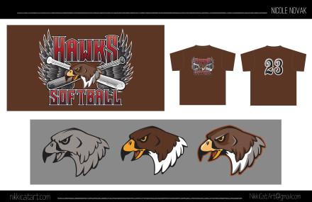 Hawk Mascot/Logo
