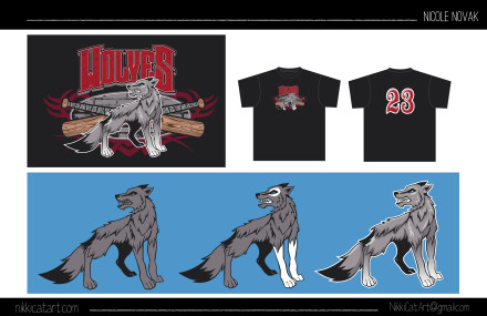 Wolf Mascot/Logo