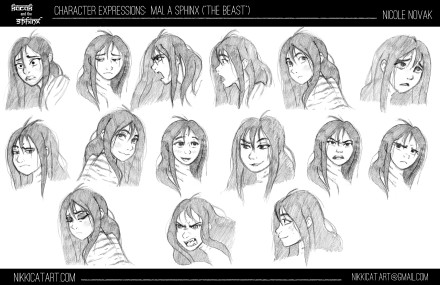 Mai Expression Sheet