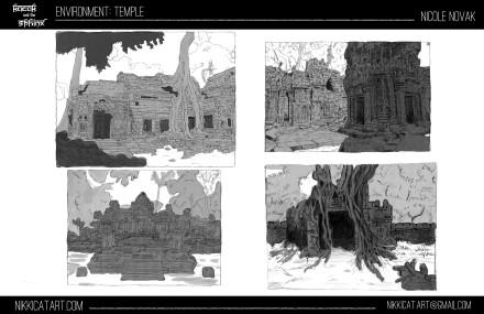 Environment Design: Temple
