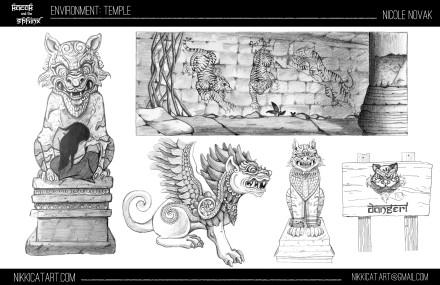 Environment Design: Temple 2