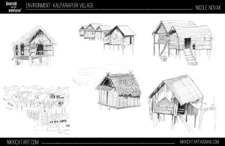 Environment Design:  Village